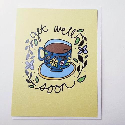 Get Well teacup