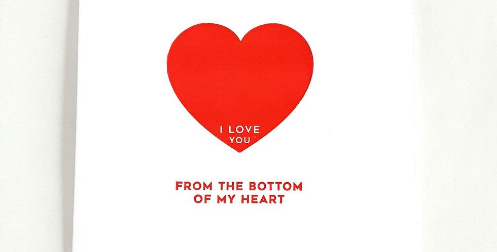 Bottom of my Heart