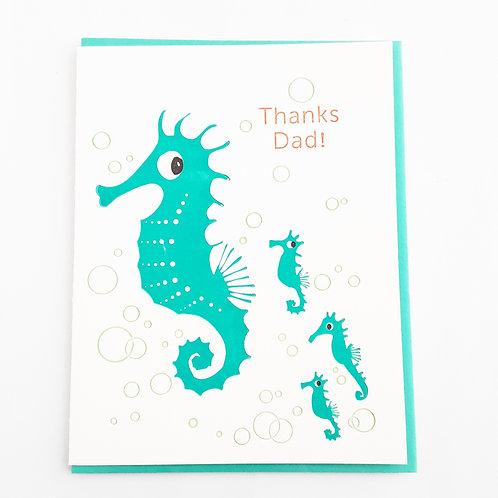 Thanks Dad! seahorse