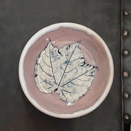 Pressed Leaf Dish #16