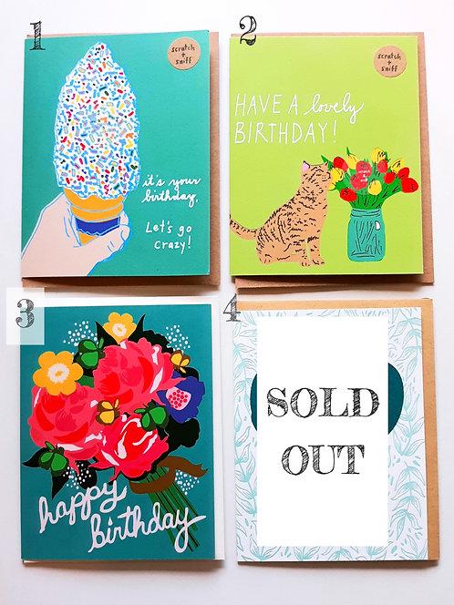 Birthday Cards (Part 1)