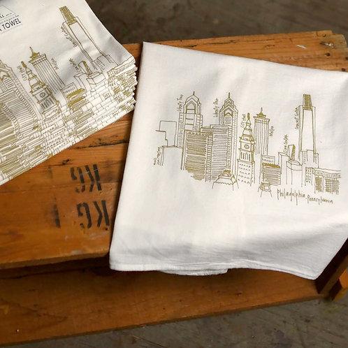 Philadelphia Dish Towel