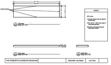 Vitrine drawings