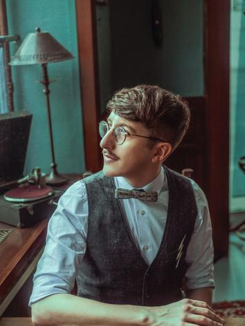 Portrait de Benjamin James
