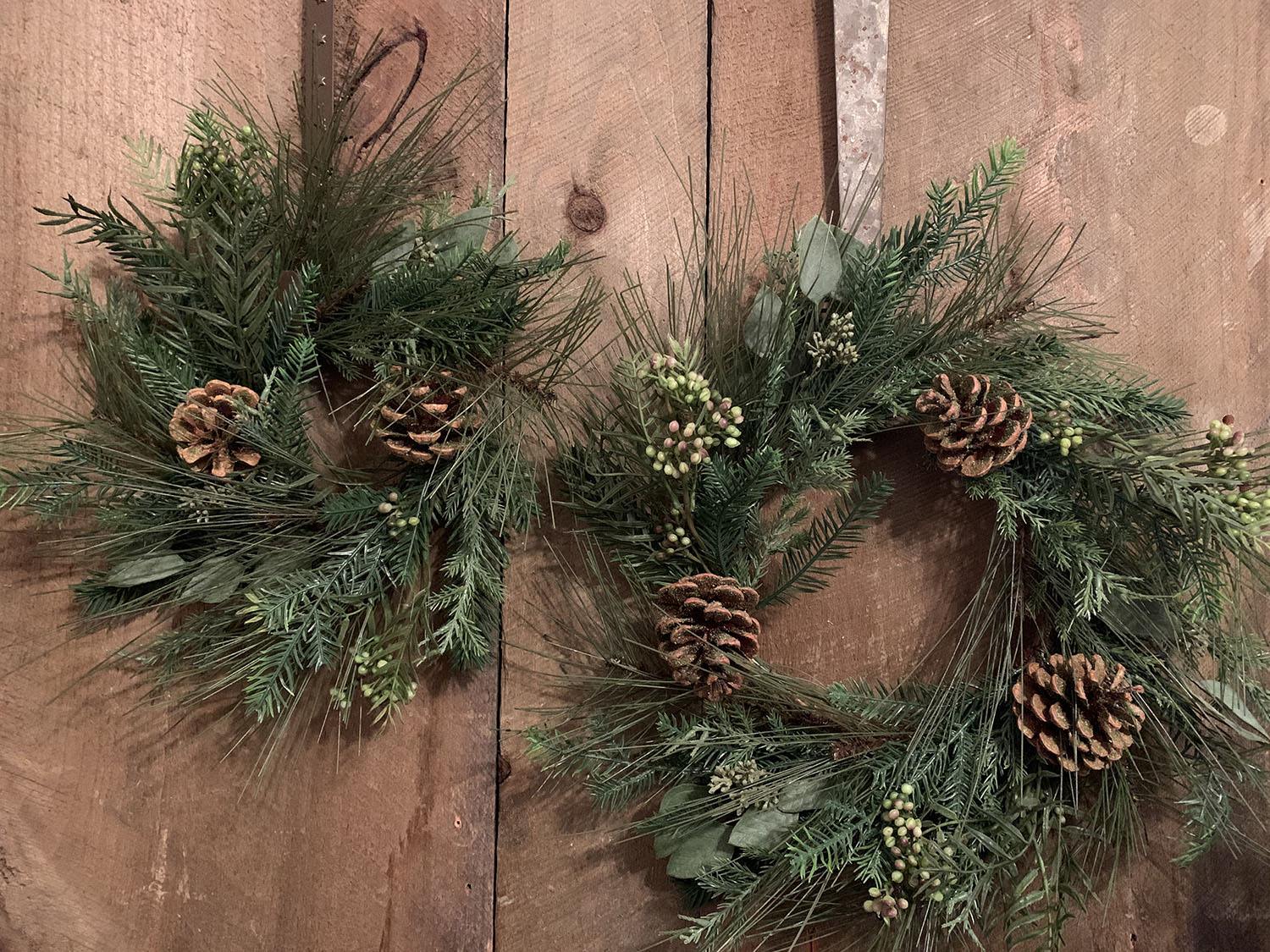 Pine Candle Rings/Wreaths