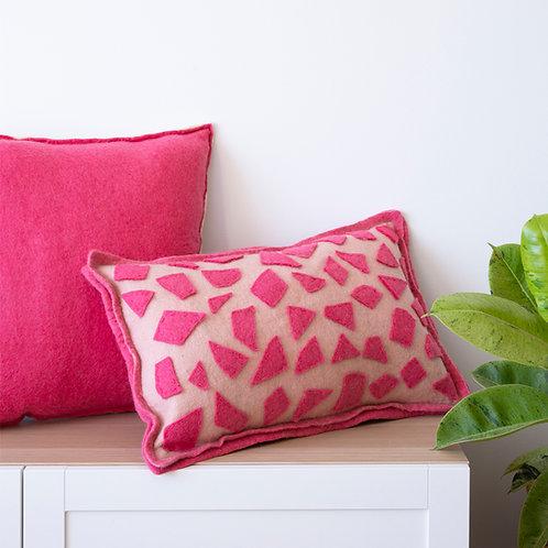 Mouni Terrazzo Applique Cushion