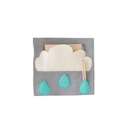 Droplet storage wall hanging