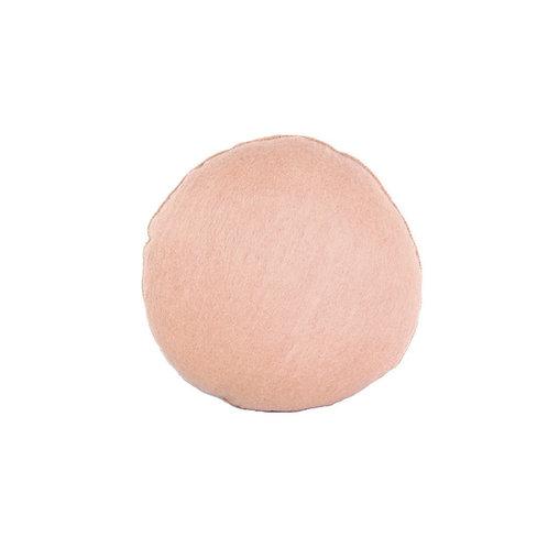 Pods felt cushion peach