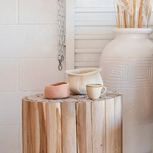 Vadu bowl blush 2 sizes