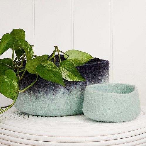 Vadu bowl eggshell blue 2 sizes