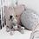 Thumbnail: Pods mini cushion grey