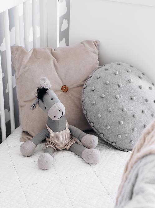 Pods mini cushion grey