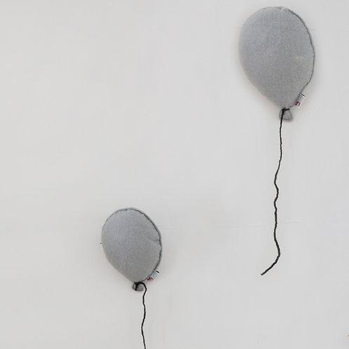 Balloon Felt Wall Hanging Grey
