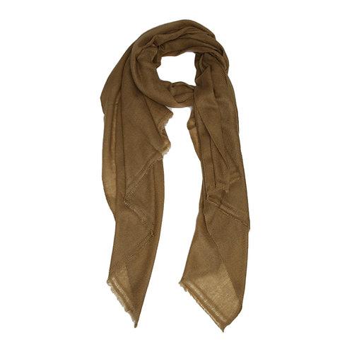 Moye pashmina scarf khaki green