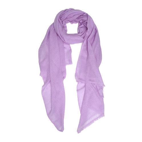 Moye pashmina scarf in lavender