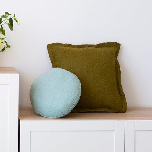 Pods Felt Cushion Eggshell Blue