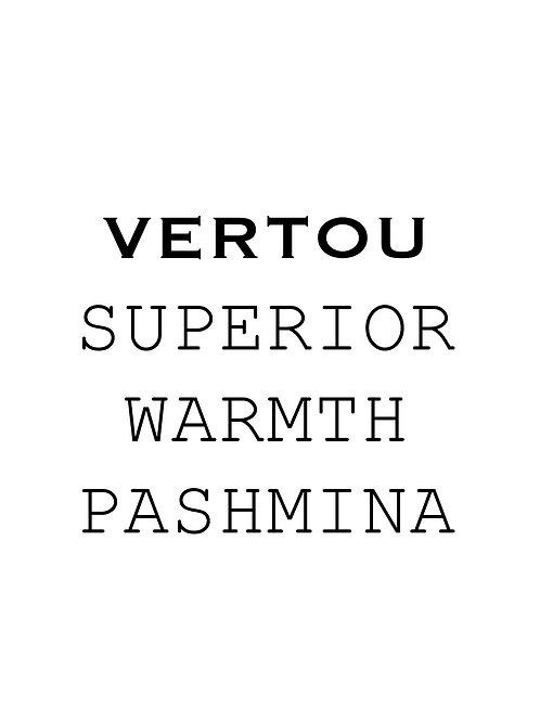 Custom made Vertou Pashmina