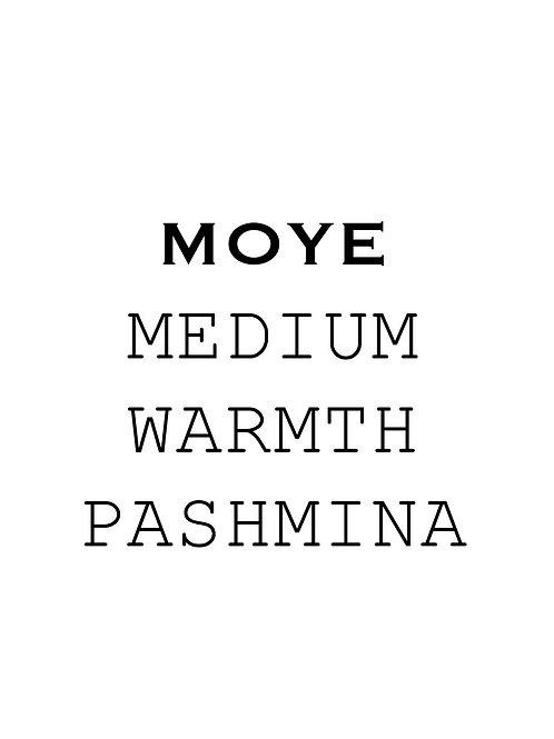 Custom made Moye Pashmina