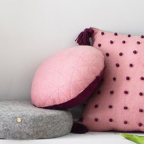 Geo Two Face Cushion 'Grishm' Colours
