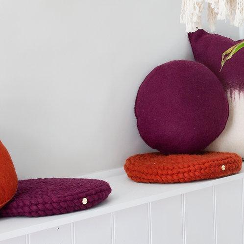 Buneko Cushion 'Grishm' colours
