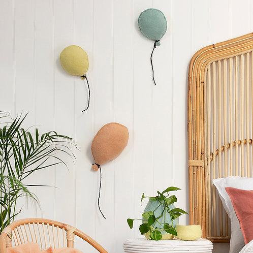 Balloon Felt Wall Hanging Blush