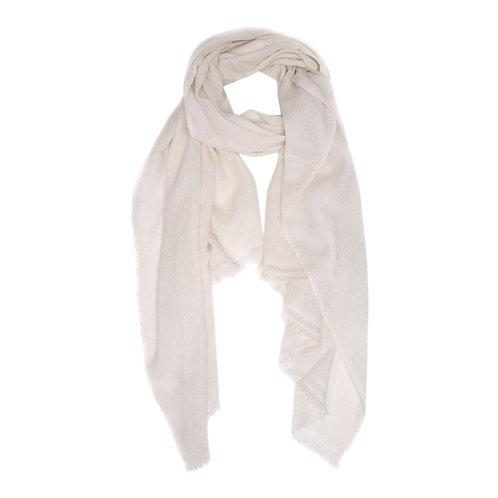 Moye pashmina scarf ivory