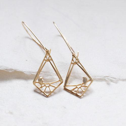 Perched Dangle Earrings