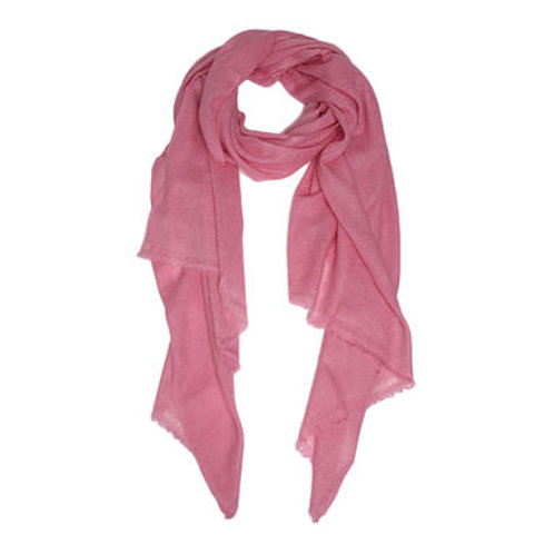 Moye pashmina scarf in dusty rose