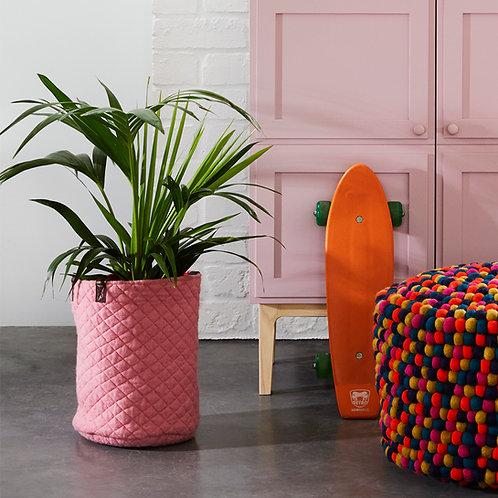 Geo Round Basket Pink/Tangelo