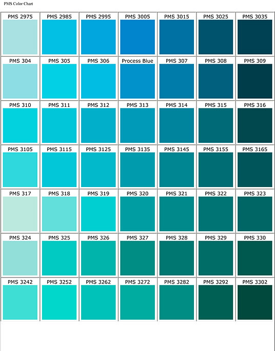 Turquoise color chart mendi charlasmotivacionales co