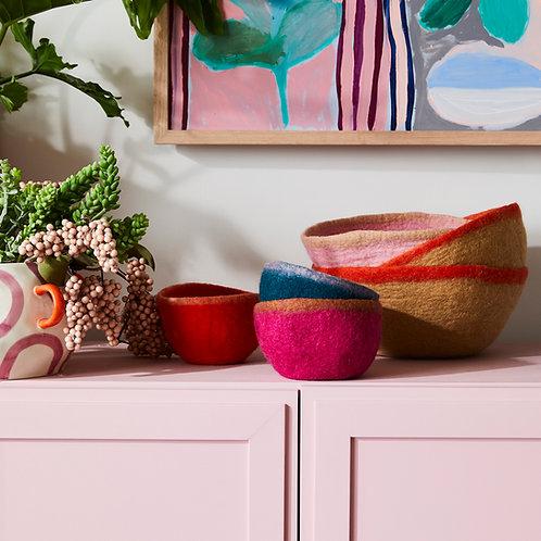 Batuko Rim Bowl Small Tangelo
