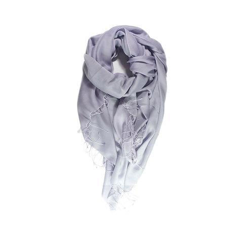 Moana silk merino scarf lavender