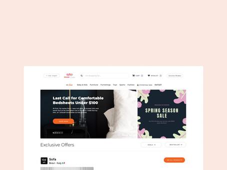 eCommerce Website Redesign - UX Case Study