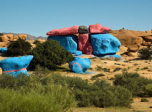 Painted rocks-Tafraout
