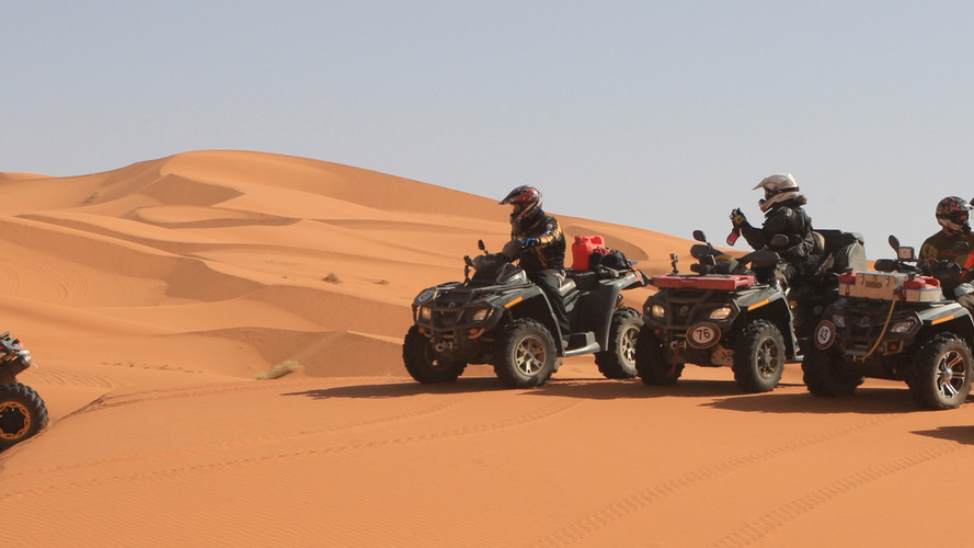 Location quad merzouga