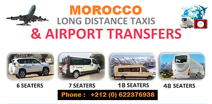 Touring in Morocco