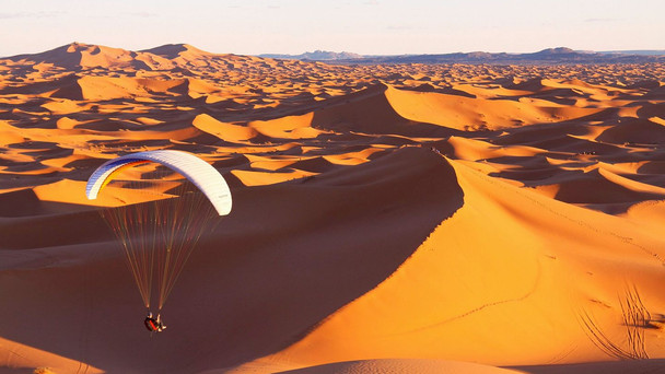 Paragliding in Morocco