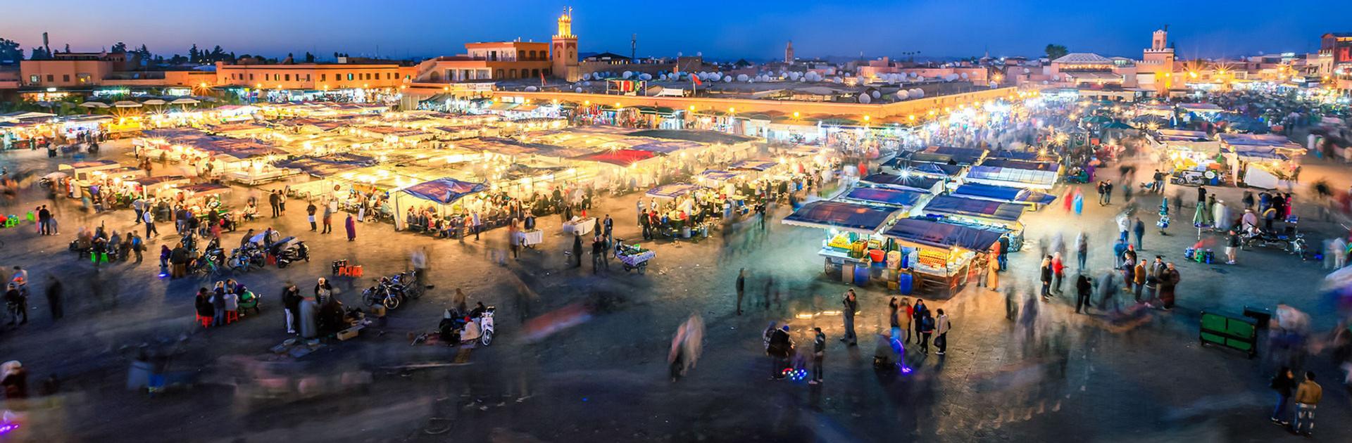 Marrakech- Jama-elfna