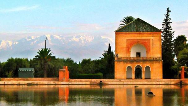 Jardins-Menara.Marrakech
