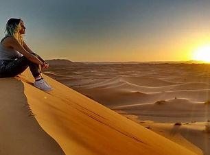 Sune Rise in Merzouga Desert