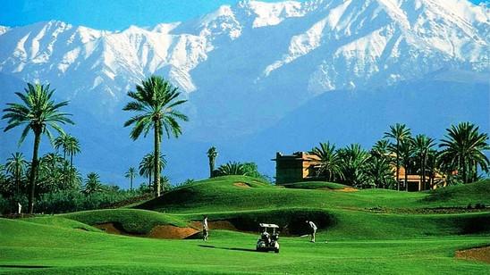 Golf  séjour au Maroc