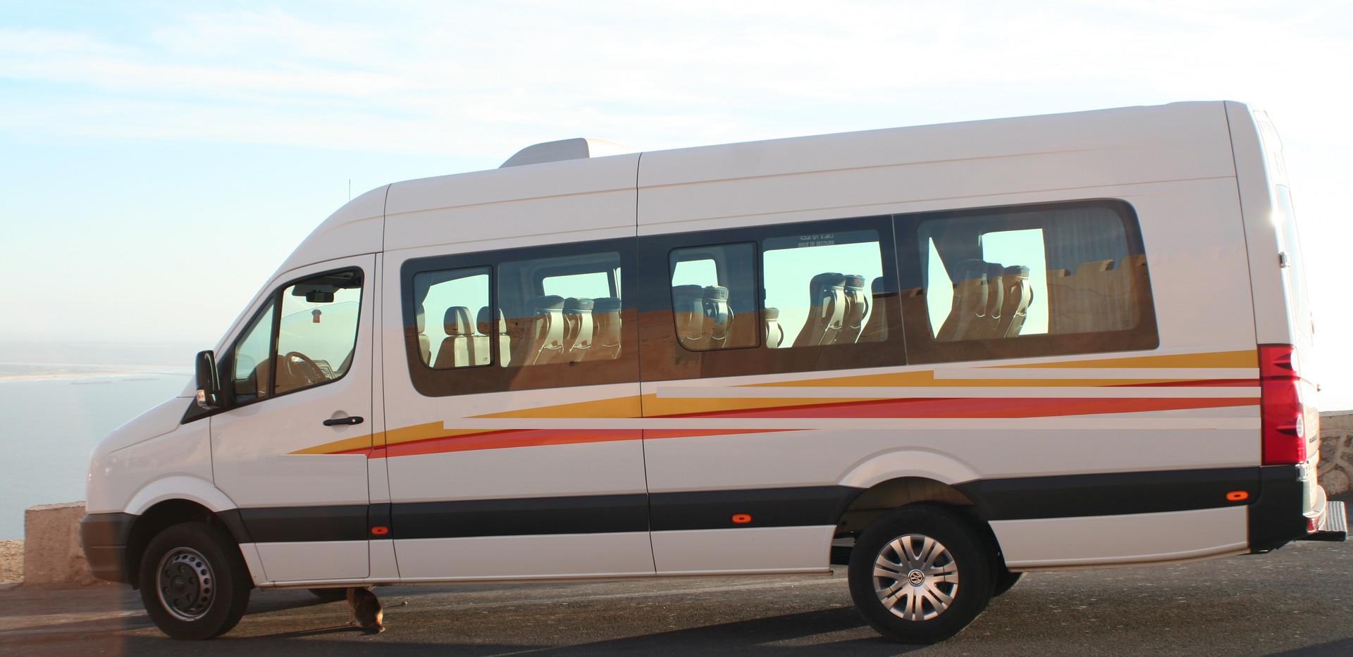 Location minibus Casablanca