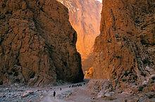 Todra gorges
