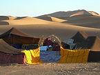 Desert Camp in Merzouga