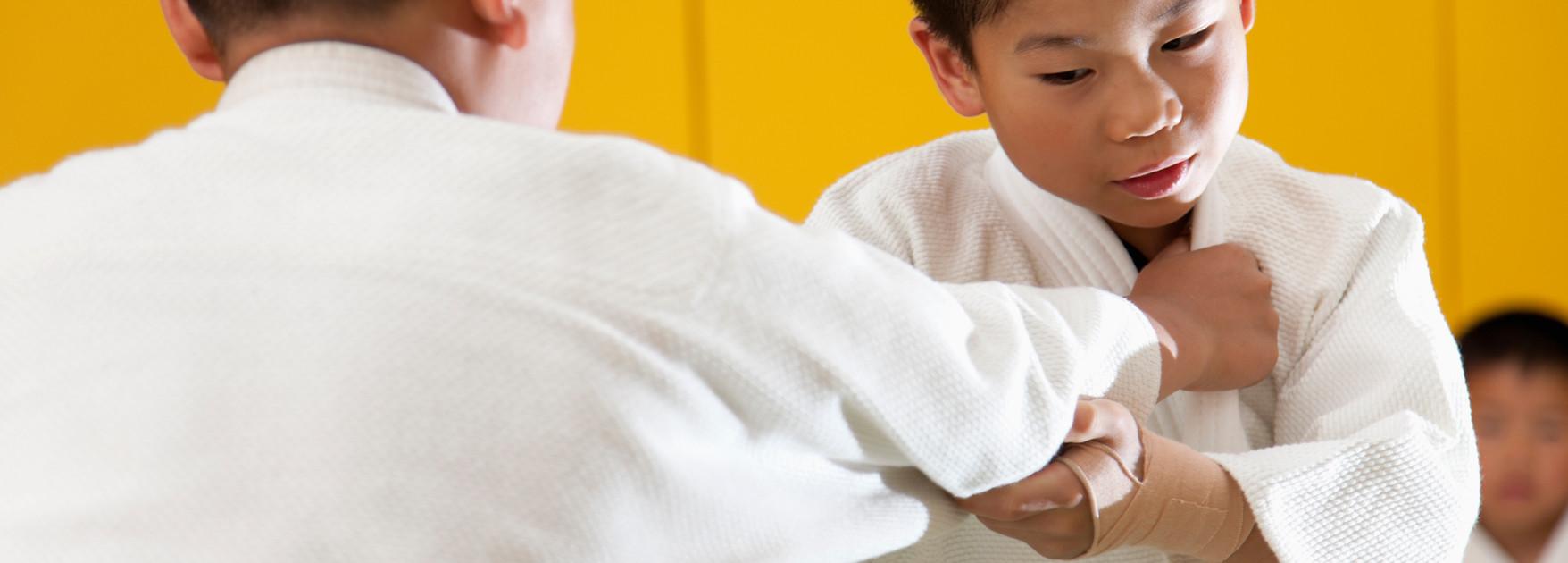 Treinamento de Judô Crianças