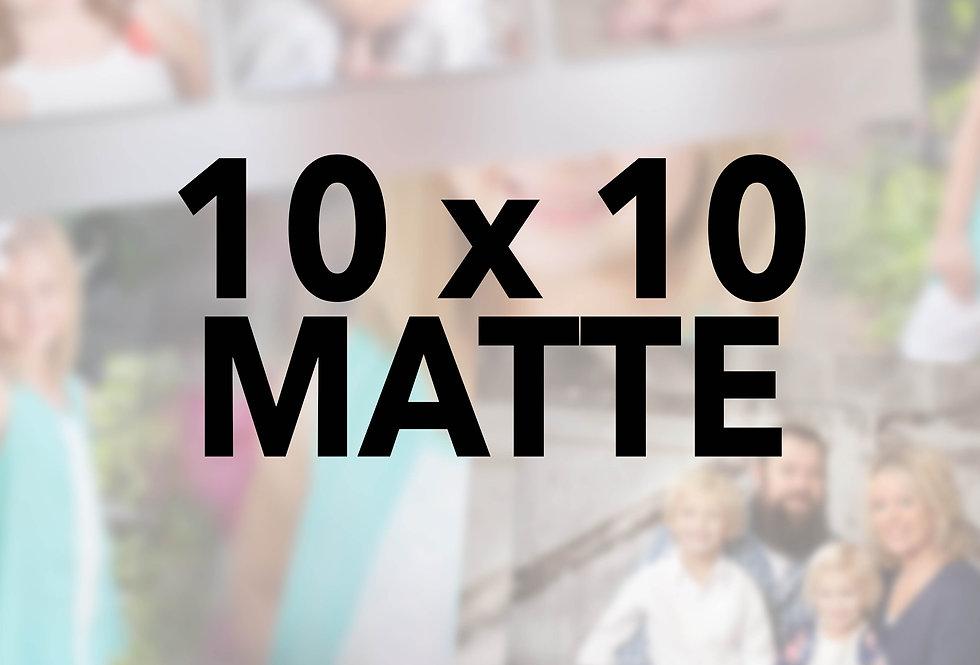 Mounted/Sprayed 10x10 (Matte)