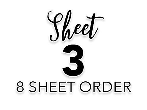 SHEET 3 OF 8
