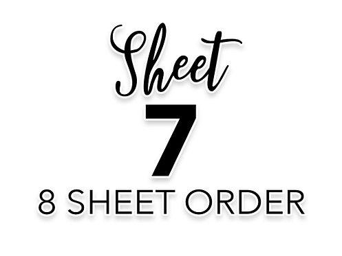 SHEET 7 OF 8