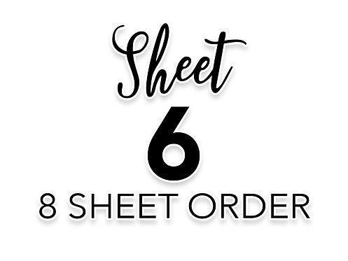 SHEET 6 OF 8