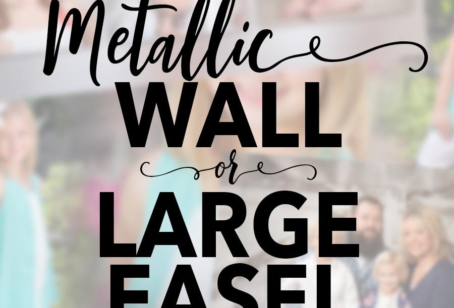 Metallic Wall/Large Easel Composite